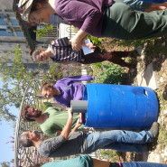 בנית מתקן לגידול בחבית בשילוב קומפוסטר תולעים